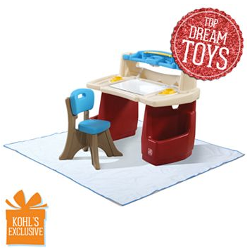 Step2 Deluxe Art Desk With Splat Mat 41 99 Free