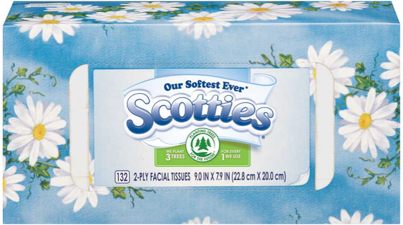 photograph relating to Scotties Tissues Printable Coupon identified as Scotties Facial Tissue Coupon - $1.00 off Scotties Tissues