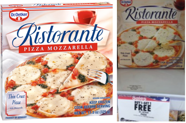 Dr Oetker Pizza Coupons
