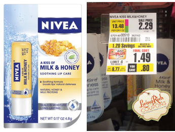Nivea Lip Balm ShopRite Deal
