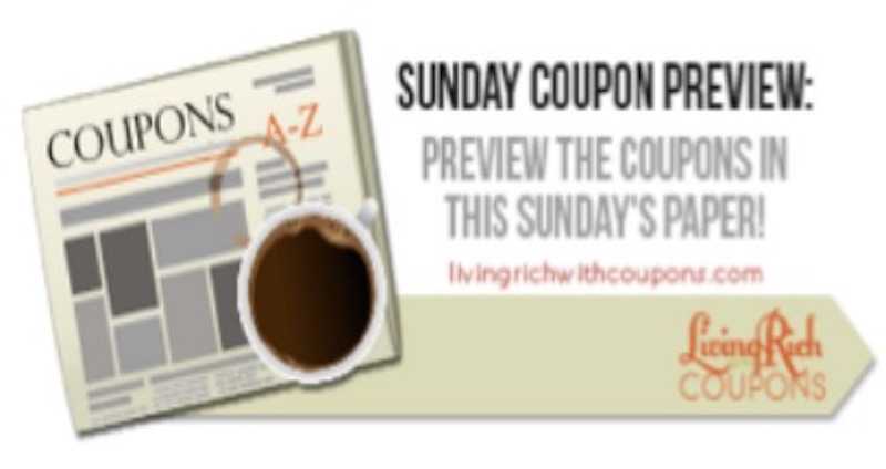 sunday coupon insert preview 6/21/15