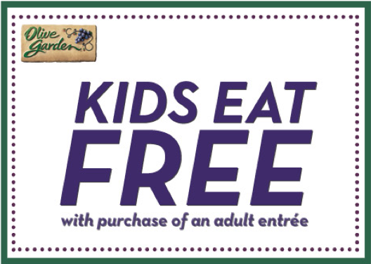 Olive Garden Kids Eat Free Living Rich With Coupons