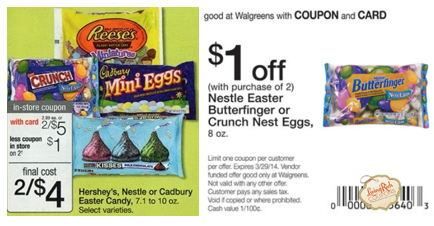 Print Nestle Easter Candy CouponC B Screen ShotAtAm