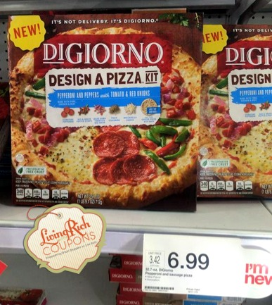 photo relating to Digiorno Coupons Printable named DiGiorno Coupon - $1.25 off any (1) heavy DiGiorno Design and style a
