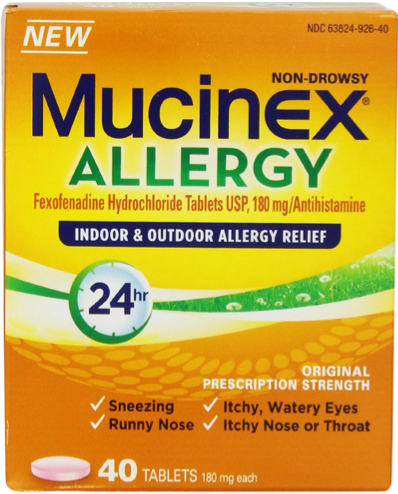 graphic relating to Mucinex Printable Coupon named Mucinex Coupon - $6.00 off Mucinex Allergy Products Coupon