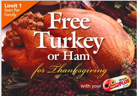 ShopRite FREE Turkey or Ham for Thanksgiving Offer is Back ...