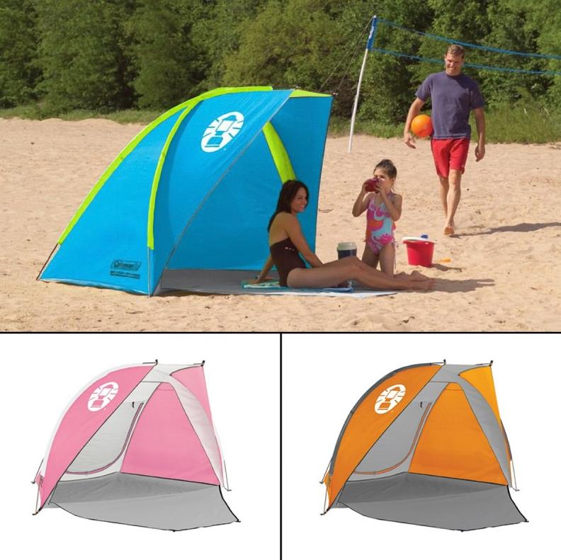 Beach Deals & Beach Deals - Coleman Beach Shade Tent just $24.99 -Living Rich ...