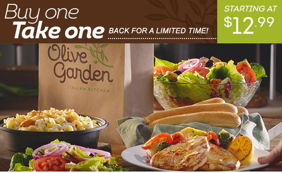 Olive Garden Has A Crazy New Breadstick Creation: Olive Garden Coupon -BOGO Entrees At Olive Garden -Living
