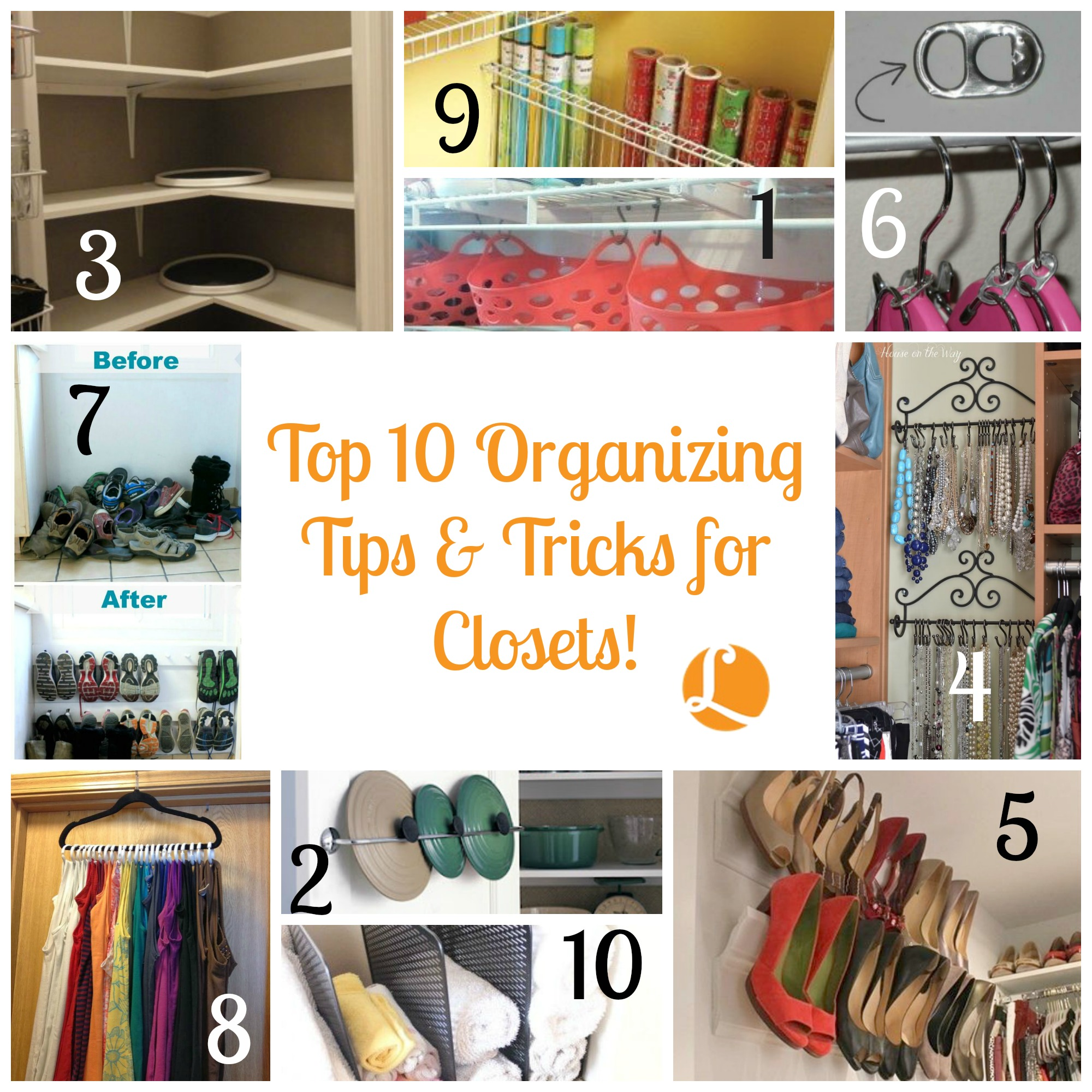 Superieur Closet Organization Tips. Beau  Top10OrganizingTipsu0026TricksClosets_12115