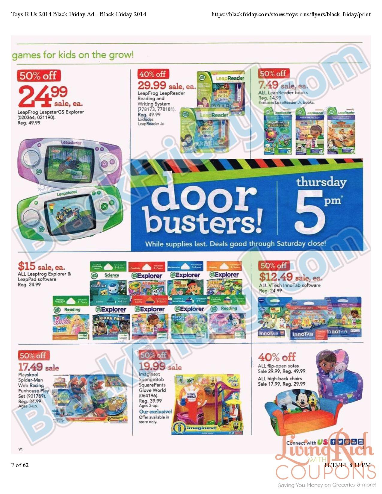 Toys R Us Black Friday Ad 2014, Black Friday Deals, Black Friday ...