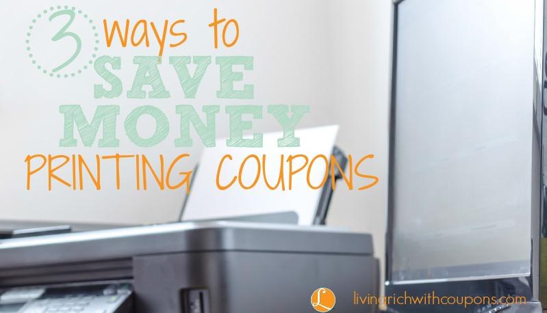 Ways to Save Money Printing Coupons-1