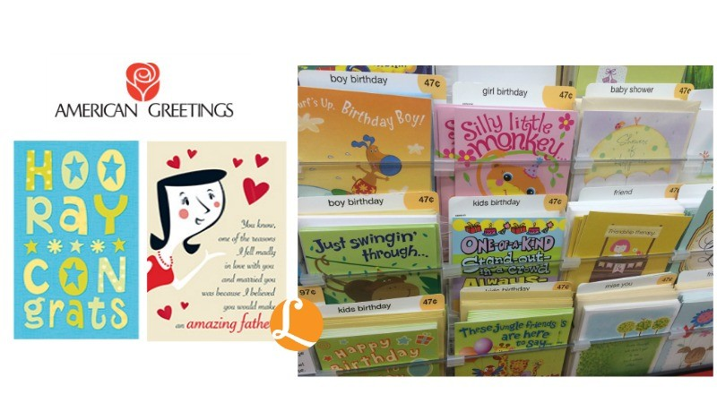 American greetings coupon 2 free cards at walmartliving rich with american greetings walmart m4hsunfo