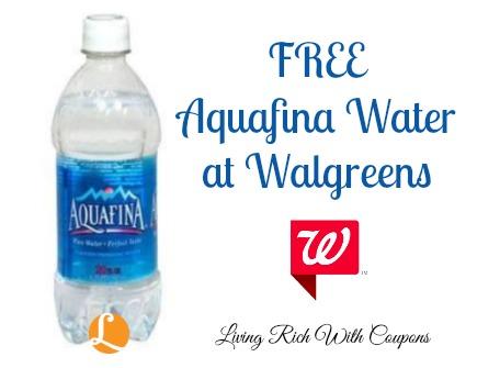 Aquafina water coupons