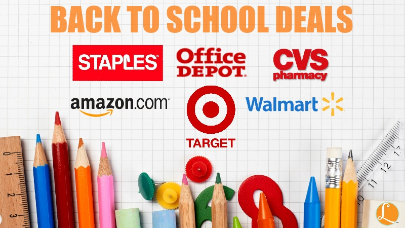 Coupons for back to school supplies at staples