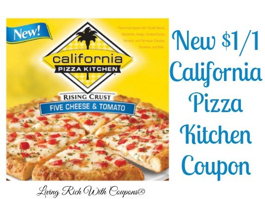 California Pizza Kitchen Coupon - $1.00 off California Pizza Kitchen ...