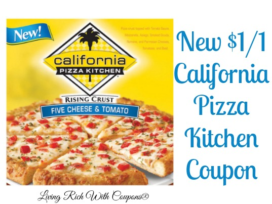 California Pizza Kitchen Coupon   $1.00 Off California Pizza Kitchen   Living Rich With Coupons®