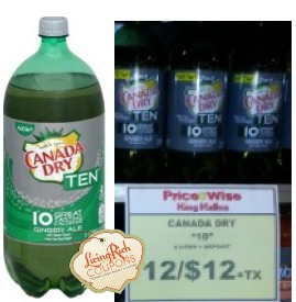 King Kullen Soda Deal - Free 7UP or Canada Dry -Living ...