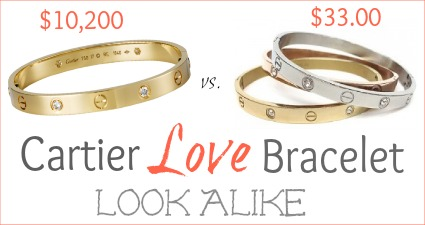 Cartier Love Bracelet Look Alike 33 00 Fashionably Frugal Living Rich With Coupons