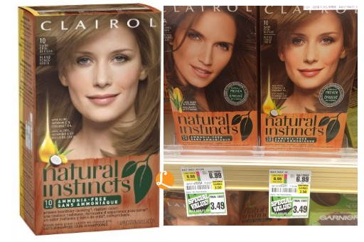 Clairol Coupon We Found A Great Clearance Deal On Natural Instincts Hair Color