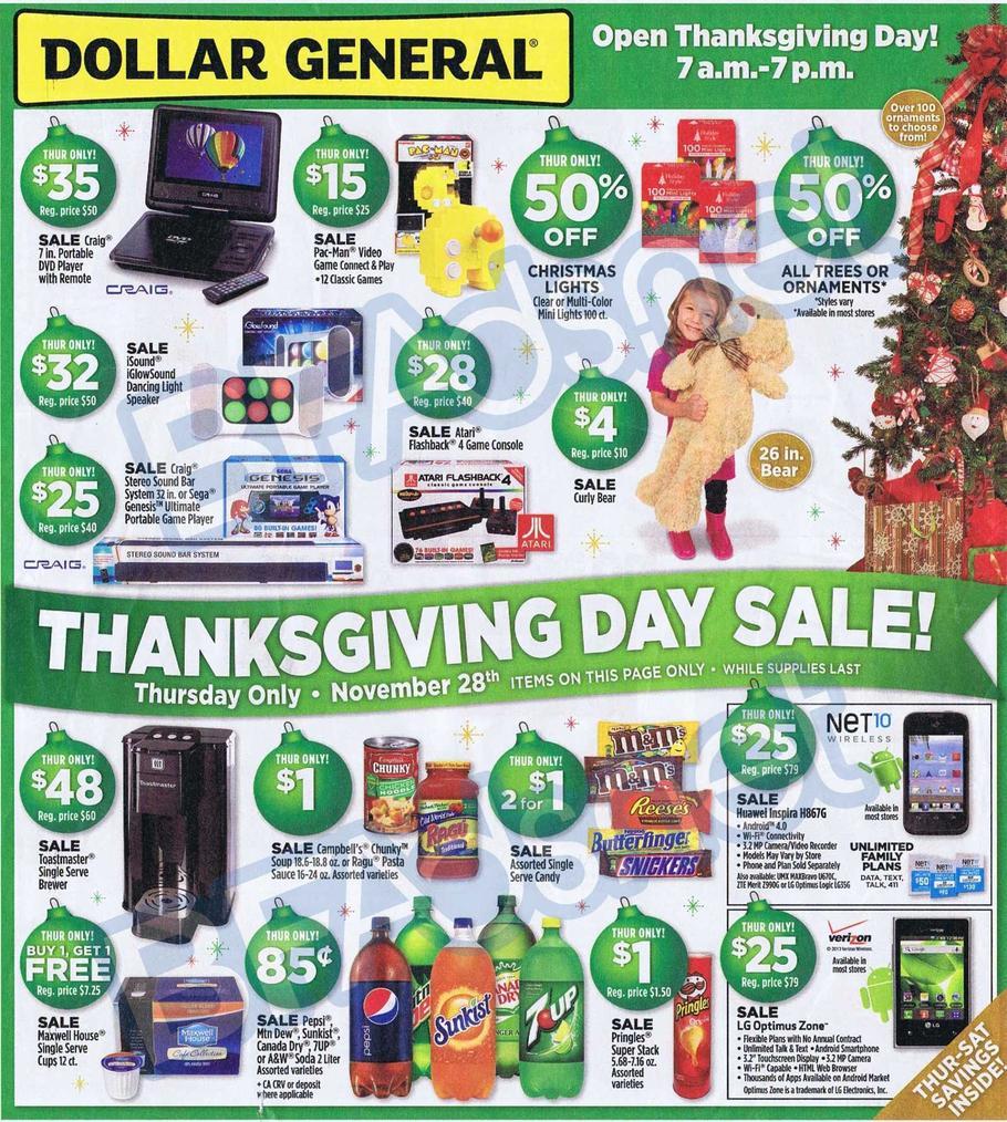 Dollar General Black Friday Ad 2013 - Black Friday 2013 - Ads 2013