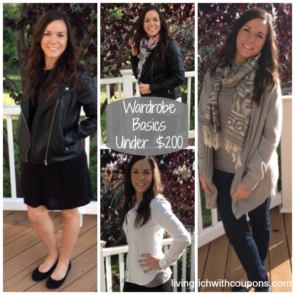Wardrobe Basics For Under 200 Top 14 Clothing Items To Buy Living Rich With Coupons