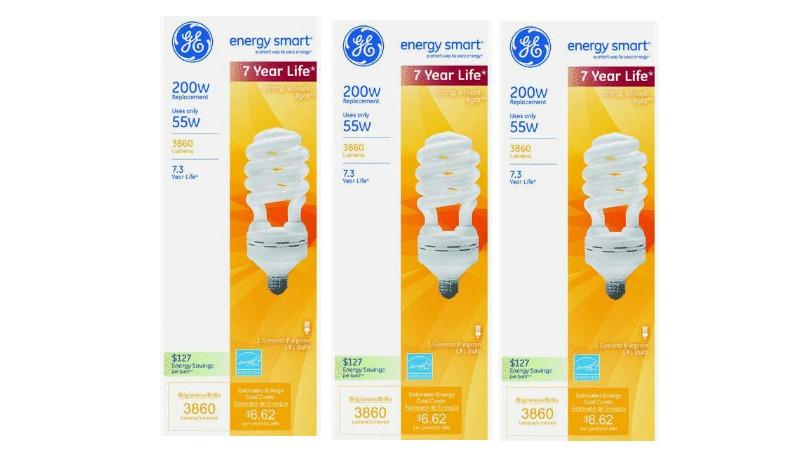 GE Light Bulb Coupon