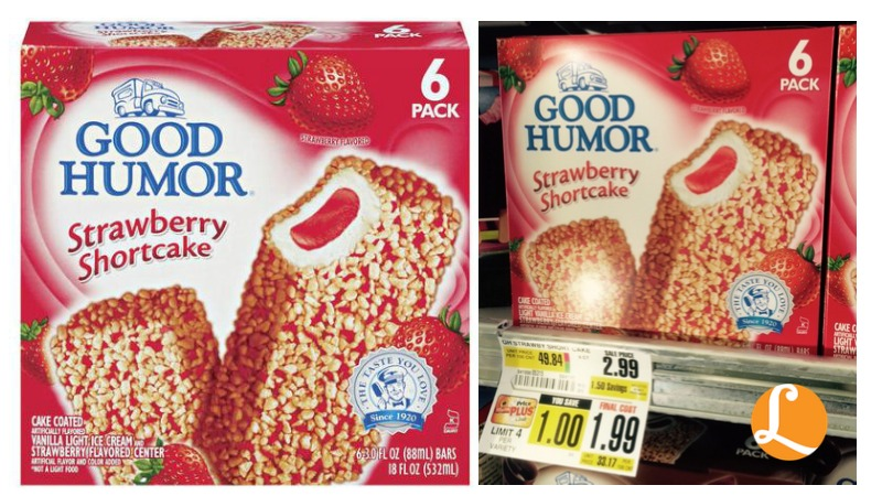 Good Humor Ice Cream Bars Coupon 0 99 At Shopriteliving