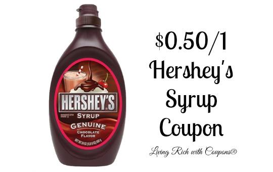 Hersheys Syrup Coupon 0 50 1 Hershey S Syrup Coupon