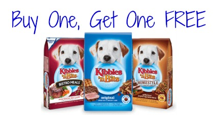 photograph regarding Kibbles and Bits Printable Coupons named Clean BOGO Totally free Kibbles n Bits Puppy Foodstuff Coupon - Simply just $1.75