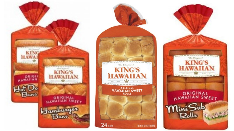 new  1  1 king u0026 39 s hawaiian rolls or bread coupon   deals at