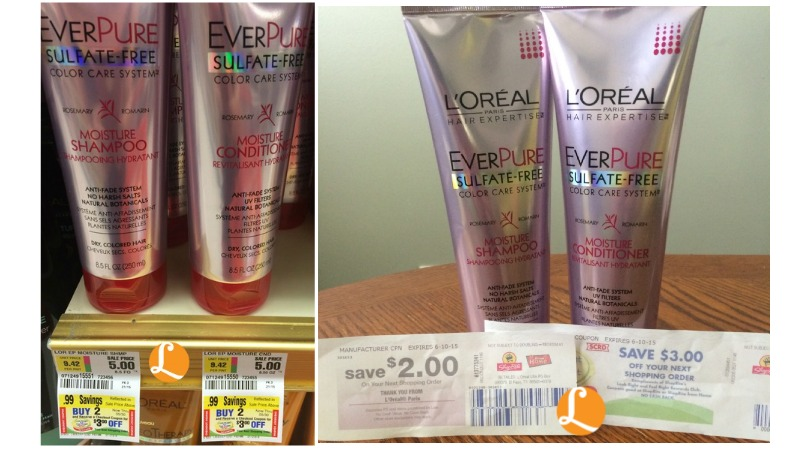 Loreal Ever Coupon Free At Shopriteliving Rich With Coupons