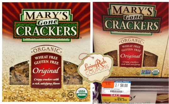 Mary's Gone Crackers Organic Gluten Free Crackers