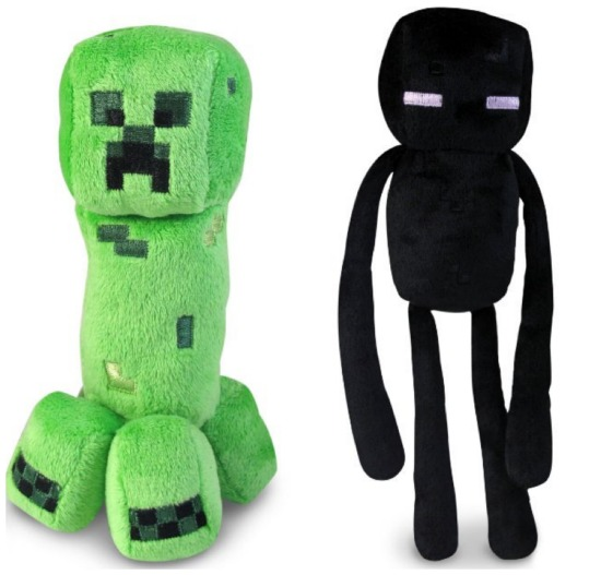 minecraft creeper or enderman 7 u0026quot  plush toys as low as  5