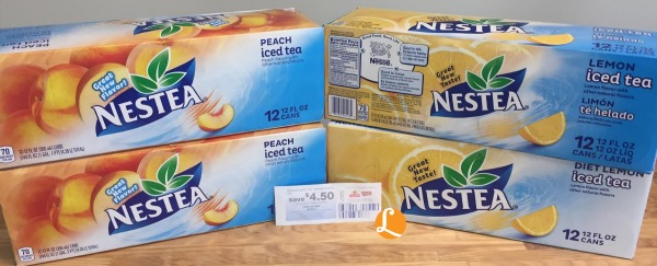 Nestea Iced Tea Coupon 1 87 Per 12 Pack At Shoprite Living Rich With Coupons 174