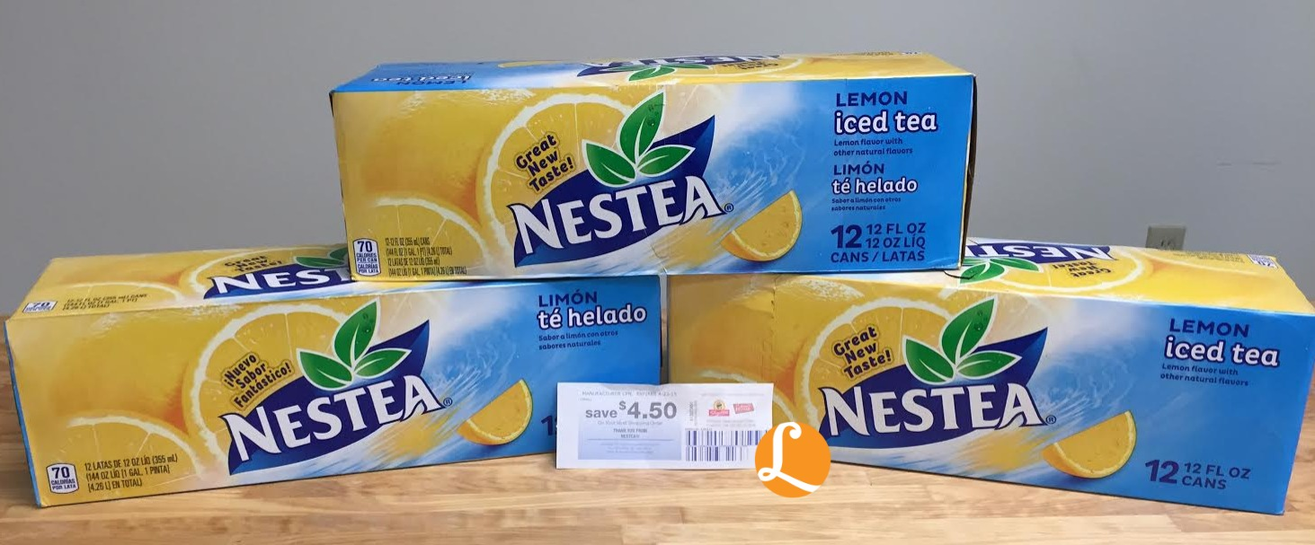 Nestea Iced Tea Coupon 149 Per 12 Pack At Shopriteliving Rich Lemon Update Packs Only Shoprite No Coupons Needed