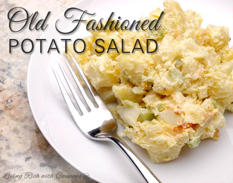Recipe for old fashioned potato salad 36