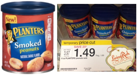 Planters Peanuts Flavors Target Deal - $0.99 -Living Rich With s® on smoked pineapple, smoked pork, smoked turkey, smoked tuna, smoked salt, smoked beef, smoked onions, smoked nuts, smoked bacon, smoked avocado, smoked eggs, smoked tomato, smoked almonds,