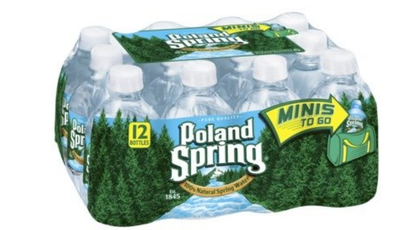 Poland Spring Coupon 12 Pack Mini Bottles 0 75 At
