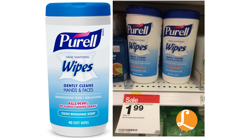Purell Wipes Canisters Coupon Free At Targetliving Rich