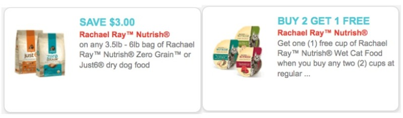 Rachael ray wet cat food coupons