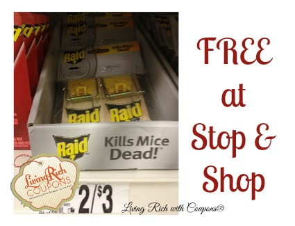 Free Raid Mouse Traps Stop Amp Shop Deal Living Rich With Coupons 174