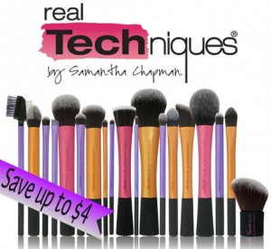 Real Techniques Makeup Brush Coupons