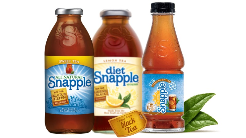 Snapple Coupon - FREE Snapple Tea Bottle Coupon -Living Rich With