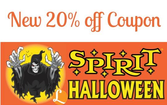 Spirit Halloween Coupon 2014 Save 20 Off Purchase