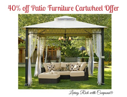 Inspirational Target Patio Furniture Cartwheel Offer off all patio furniture Living Rich With Coupons