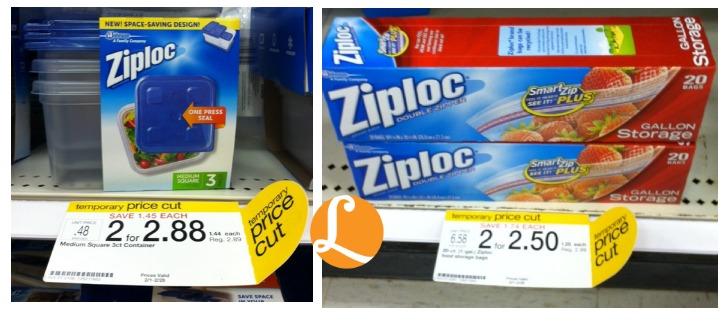 Target ziploc